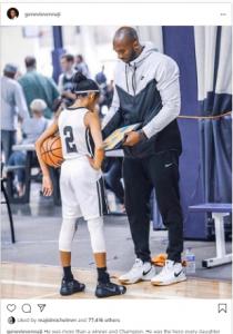 k 9 210x300 - Genevieve Mourns Kobe Bryant, Daughter (Photo)