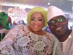 Actress Foluke Daramola and husband, Olukayode Salako
