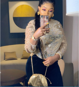 mer 272x300 - Outrage As Mercy Aigbe Advices Single Ladies Dating Married Men (Video)