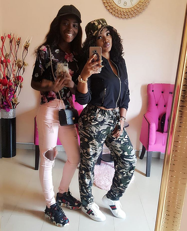 Michelle Gentry and Mercy Aigbe