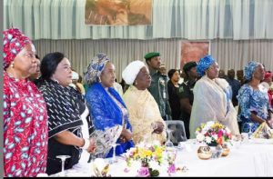 Aisha Buhari at the event