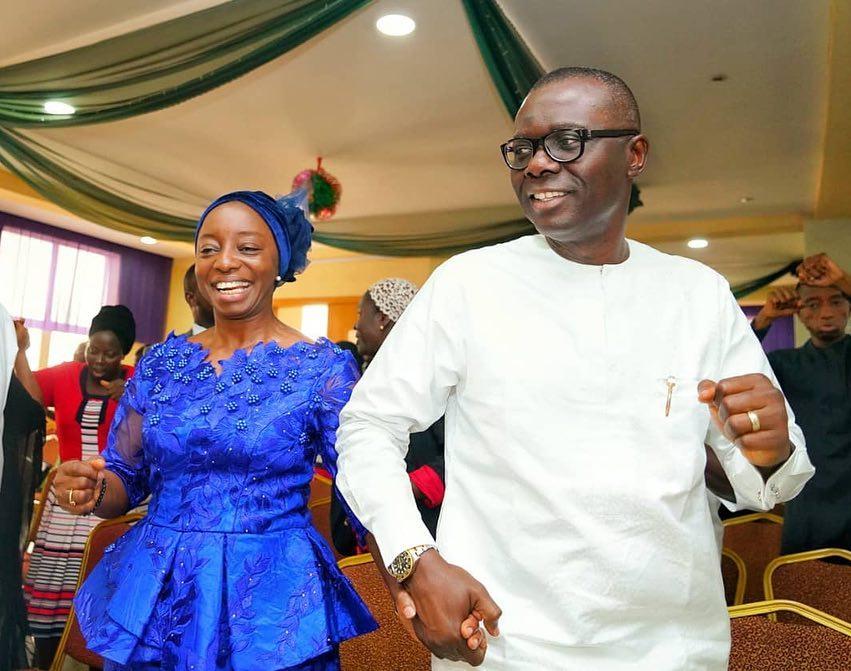 Babajide Sanwo-Olu, Ibronke Sanwo-Olu
