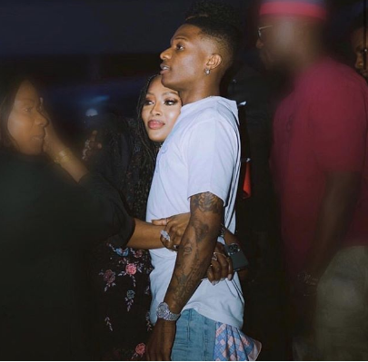 American model, Naomi Campbell and Wizkid