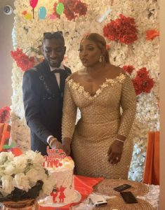Anita Joseph and hubby, MC Fish