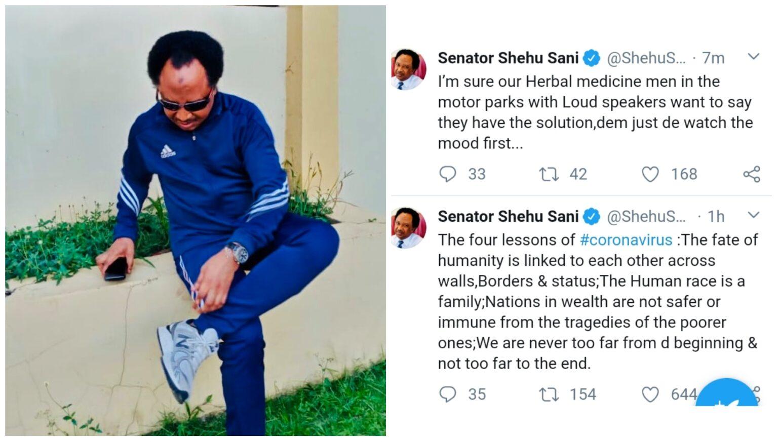 The former senator's post
