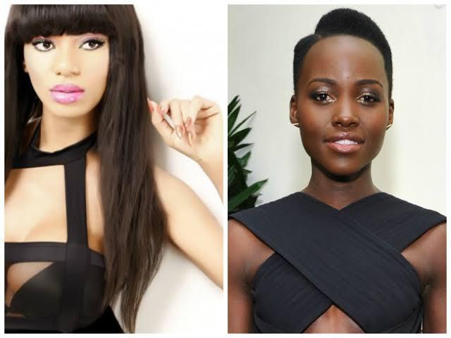 Dencia and Lupita Nyong'o