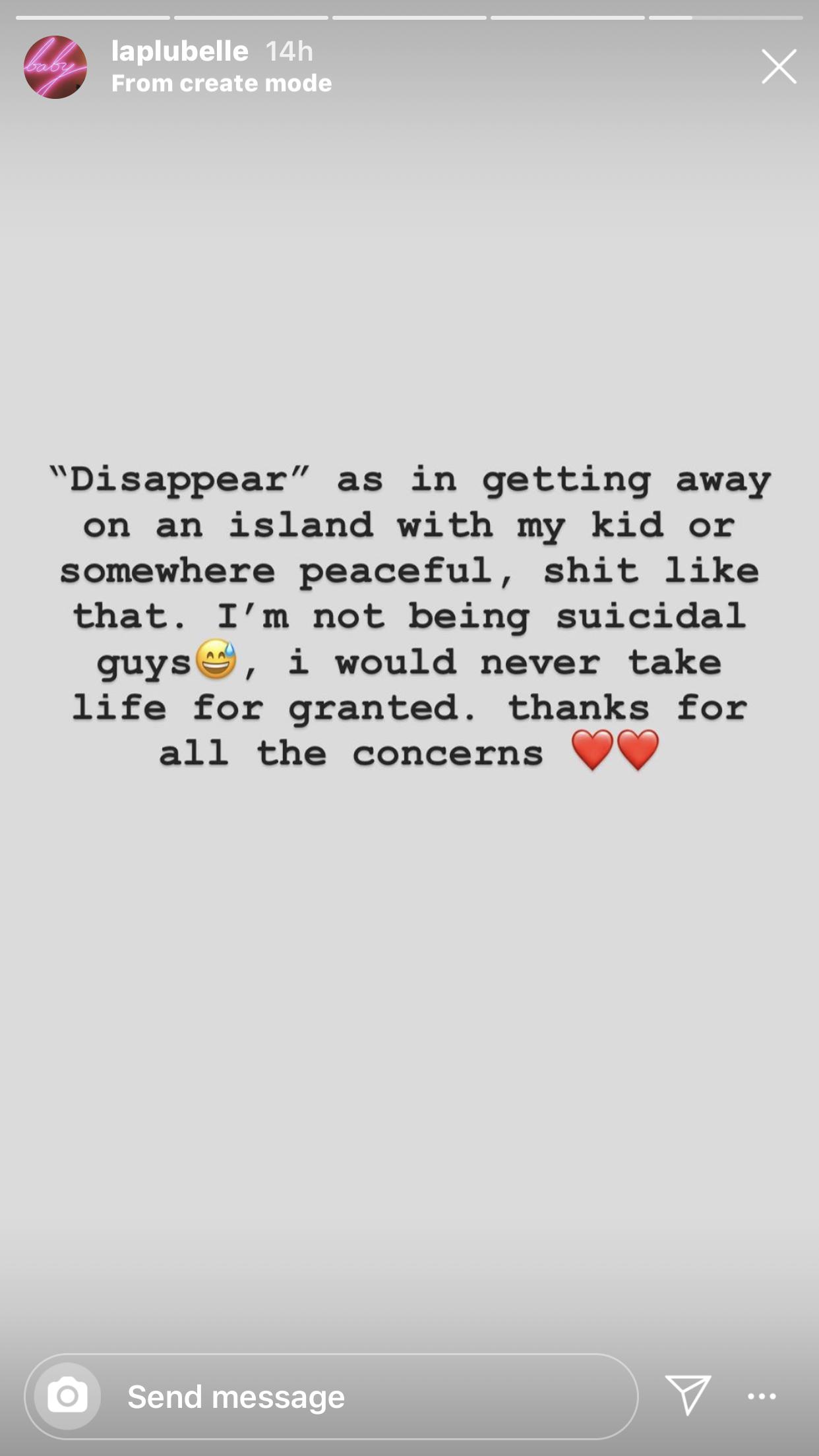 Amanda's post