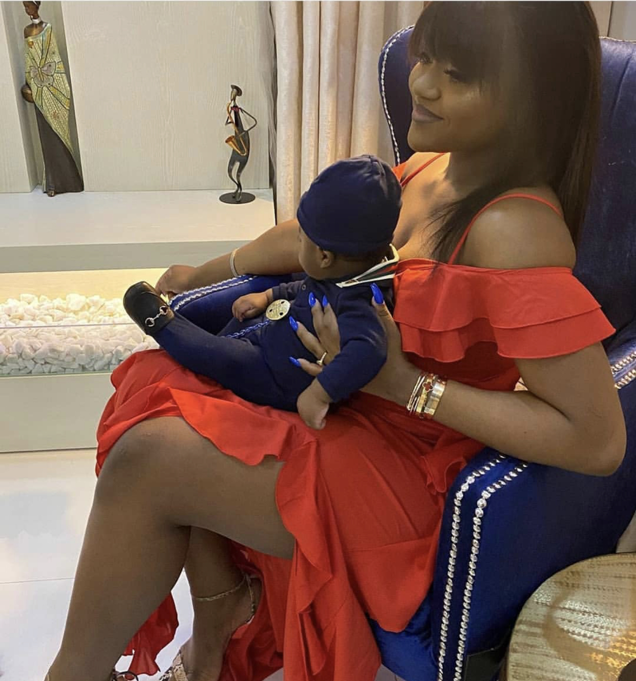 Chioma and her son