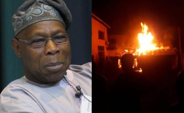Former President Obasanjo