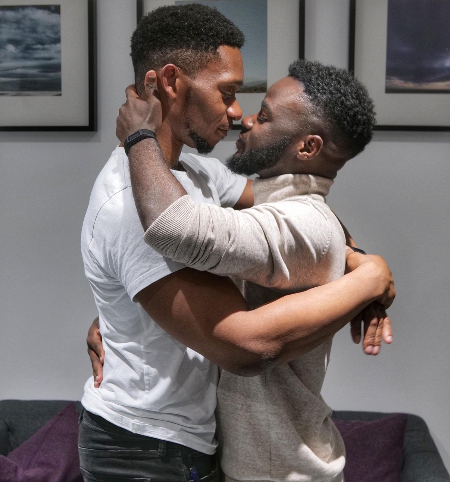 The two Nigerian gay men