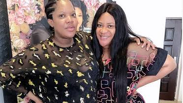 Toyin Abraham and Nkechi Blessing