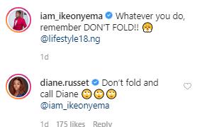 Diane's comment