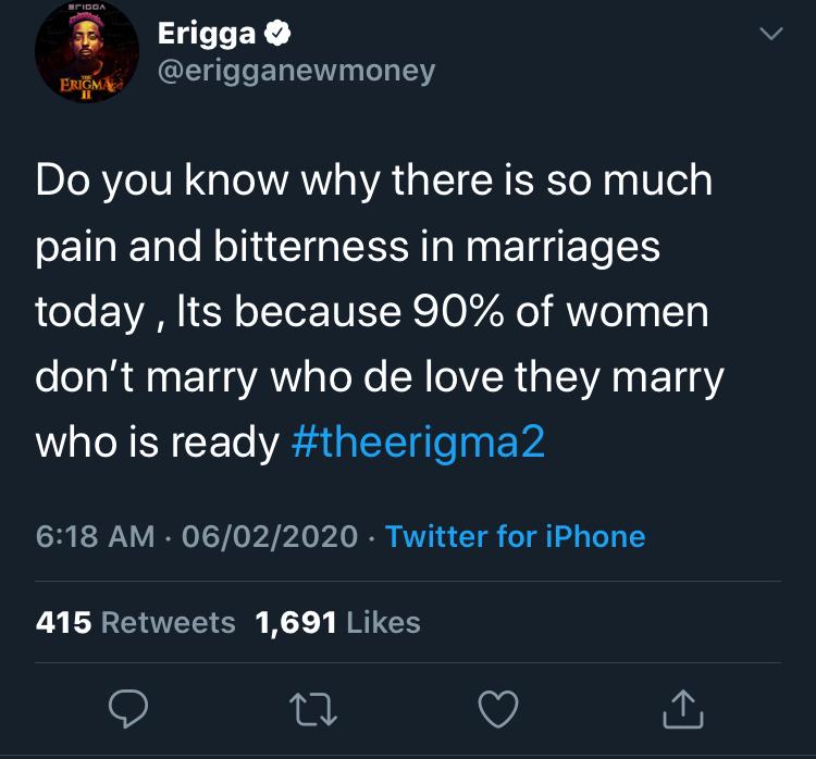 Rapper Erigga
