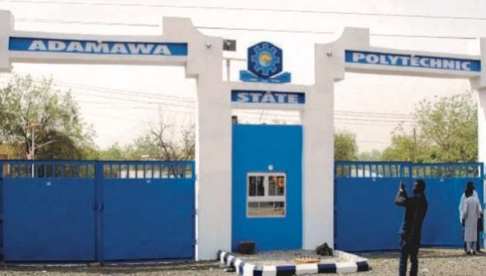 Main entrance of Adamawa Poly