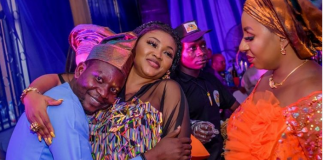 Afeez Owo, mercy aigbe and Mide martins