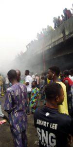 Apongbon market fire
