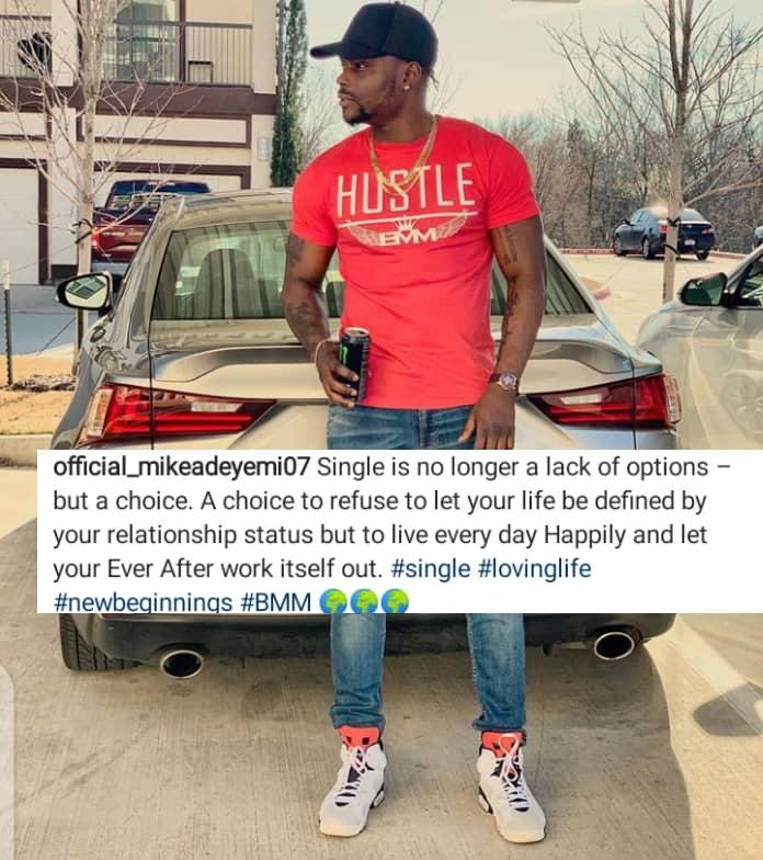 Adeyemi's IG post