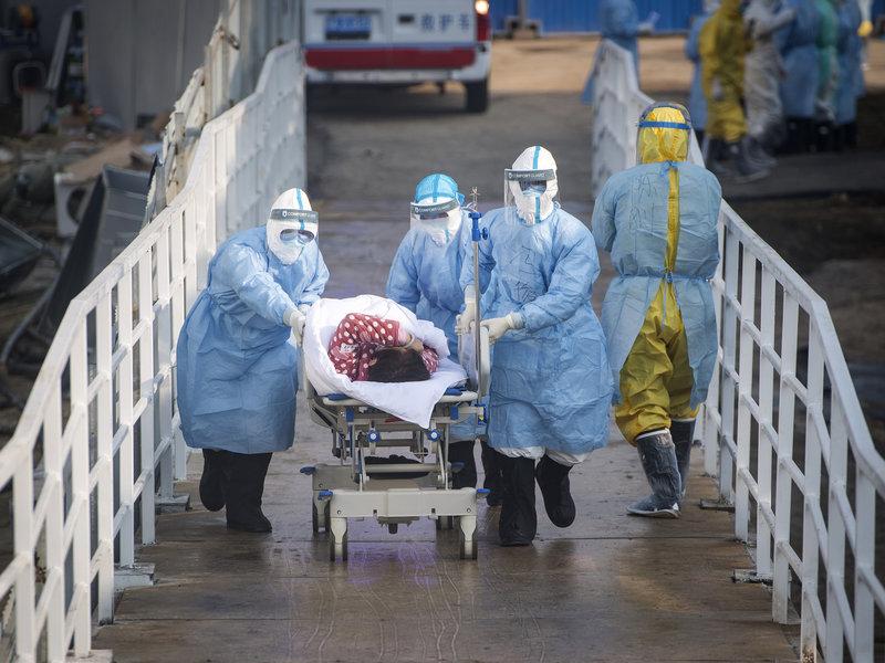 Cooronavirus patient