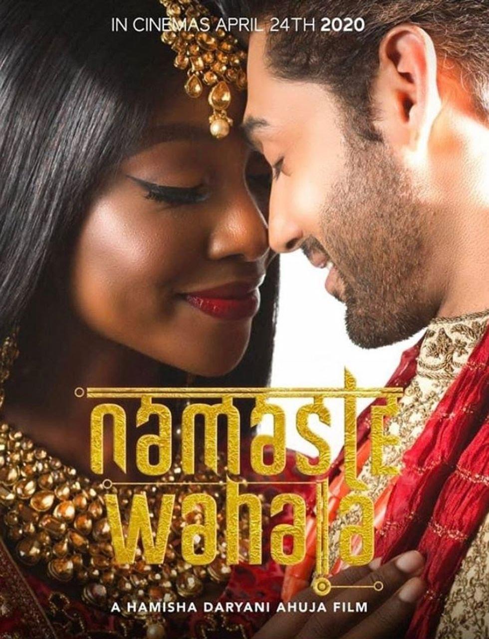 Nigerian actor Ini Dima-Okoji and India's Ruslaan Mumtaz