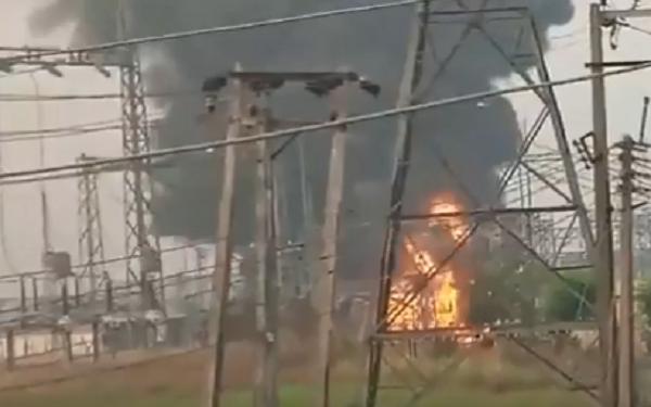 Fire guts IBEDC substation