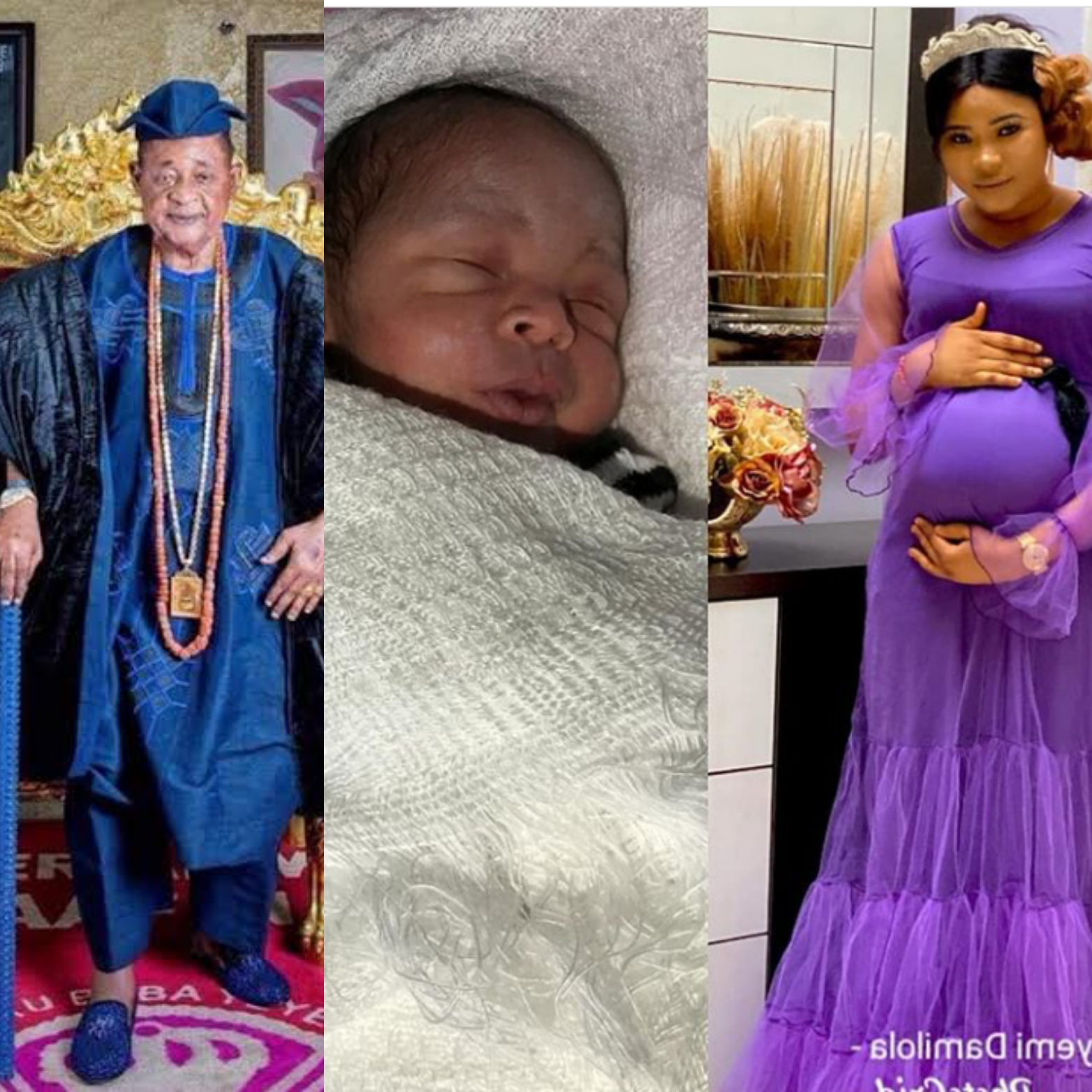 Alafin of Oyo, the little prince and the queen