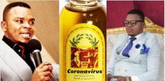 Pastor Obinim launches coronavirus oil