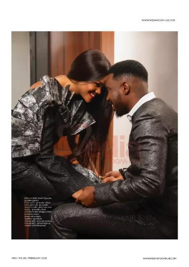 Celebrity couple, Busola and Timi Dakolo