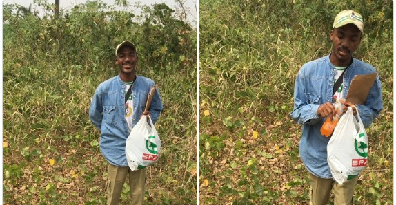 Nysc member donates his allowance to less privilege
