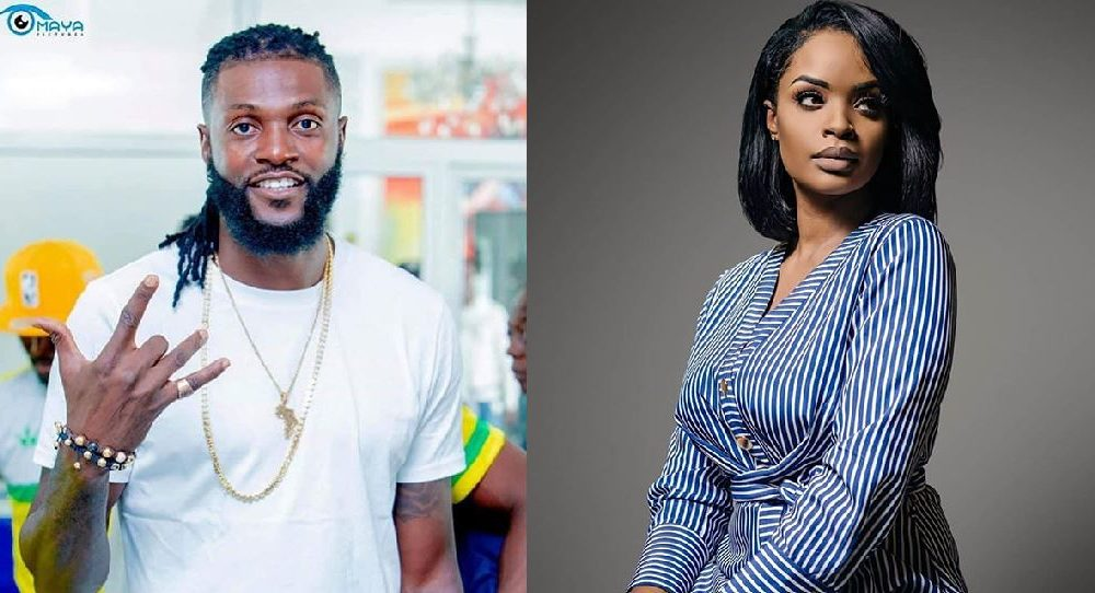 Emmanuel Adebayor and ex-girlfriend,Dillish Mathews