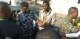 The suspect, Nathaniel Samuel
