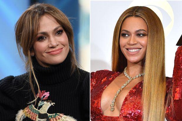 Beyonce and Jennifer Lopez