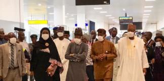 Nigerians wearing nose mask against coronavirus