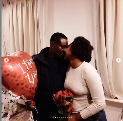 Nollywood actor, Emeka Ike and wife, Yolanda
