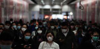 people wear protectives against coronavirus