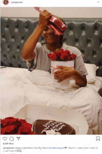 s 4 199x300 - Simi Celebrates Valentine's Day In Bed (Photo)