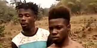 Kito and his accomplice, Chidi
