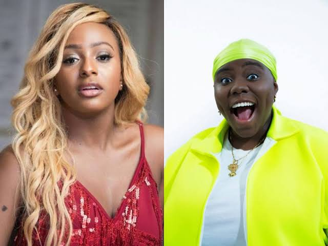 DJ Cuppy and Teni Apata