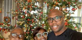 CEO Iroko Tv, Jason Njoku, his wife and mother