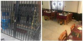 The Chinese restaurant in Victoria Island, Lagos