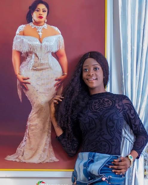 Biodun Okeowo and her daughter