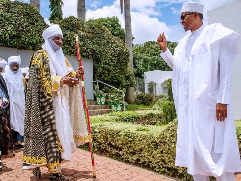 Sanusi and President Buhari