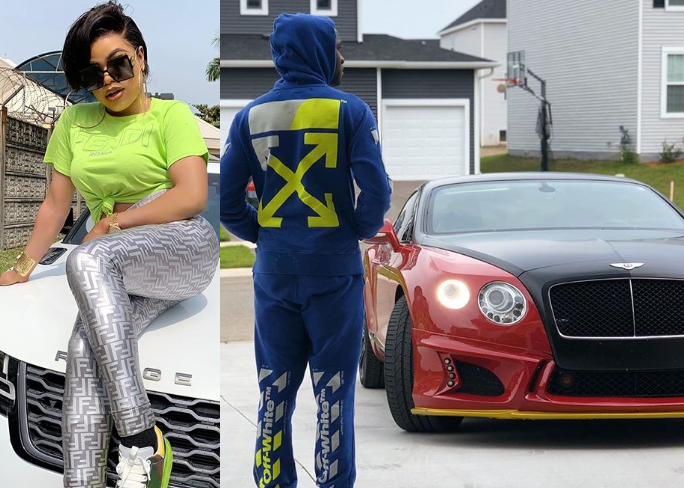 Nigerian cross-dresser, Bobrisky and her boyfriend