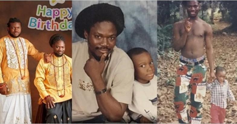 Daddy Showkey and son