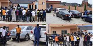 The 42 suspects involved in internet fraud