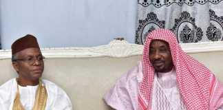 El-rufai and deposed emir sanusi