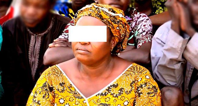 The suspect, Mary Yakubu