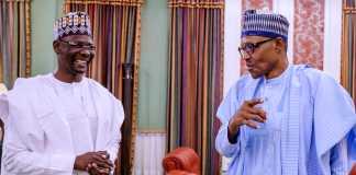 President Buhari and Sule