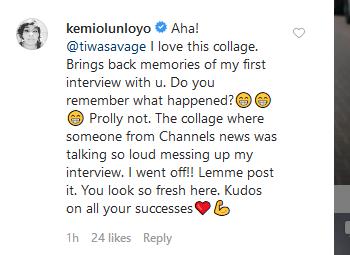 Kemi Olunloyo's comment