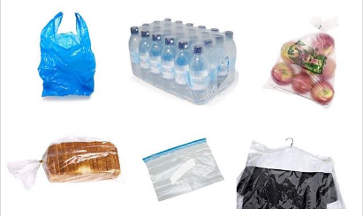 File photo of food items packaged in Nylon