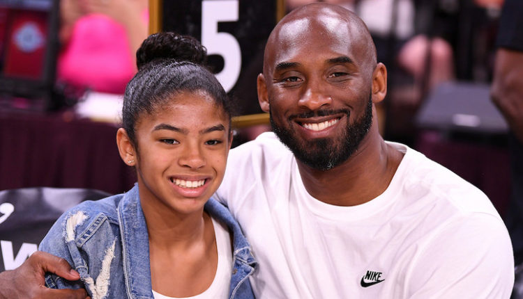 Kobe bryant and daughter